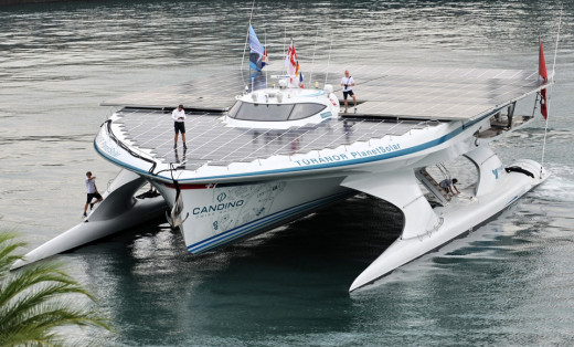 The Planet Solar Boat!