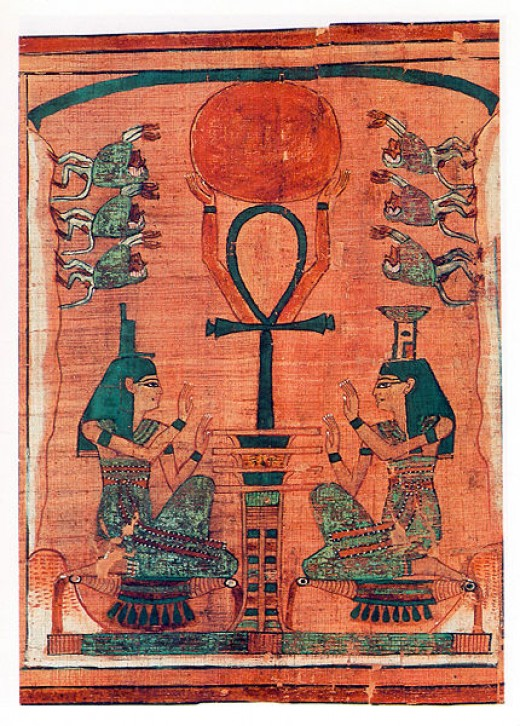 The ankh was first used in ancient egypt.