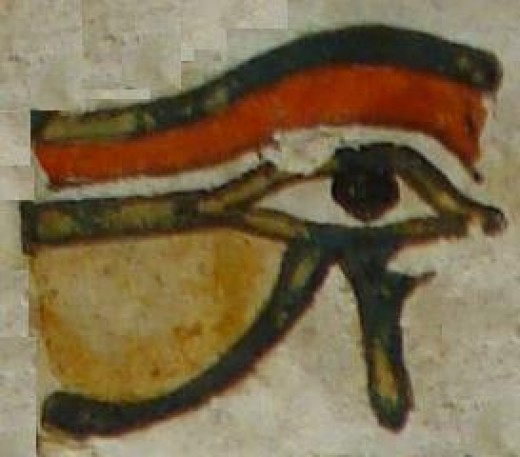 The Eye of Ra or Wedj.