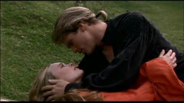 """Buttercup and Westley in """"The Princess Bride"""""""