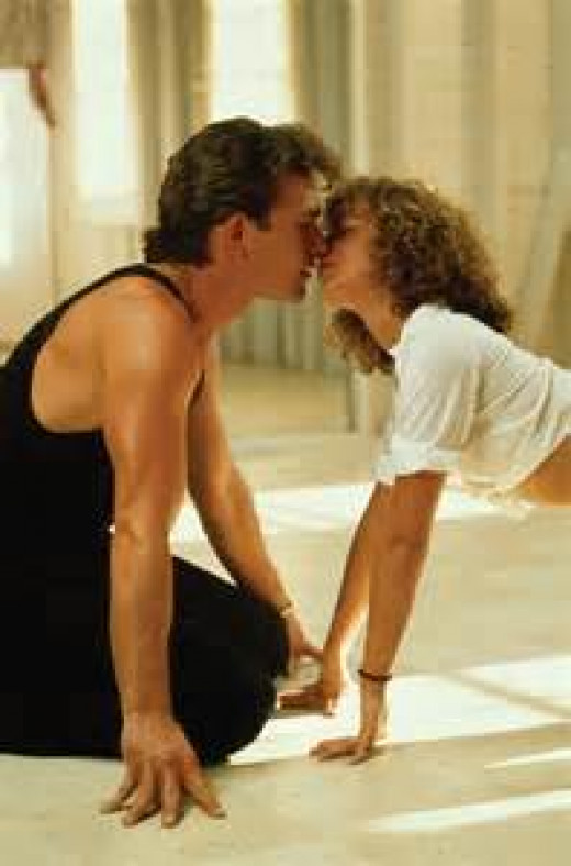 "Baby and Johnny in ""Dirty Dancing"""