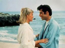 """Sandy and Danny in """"Grease"""""""