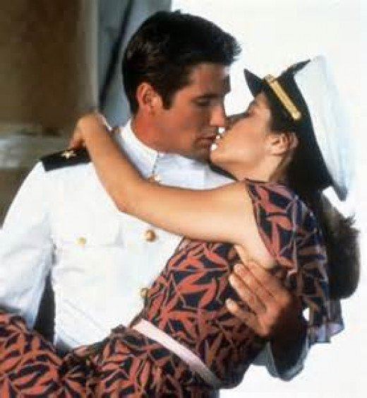 "Paula and Zack in ""An Officer and a Gentleman"""