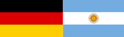 Germany met Argentina for the 3rd time in a World Cup final.