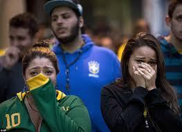 Women in tears