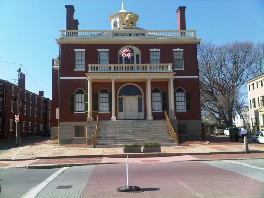Custom House, where Hawthorne found inspiration and frustration.