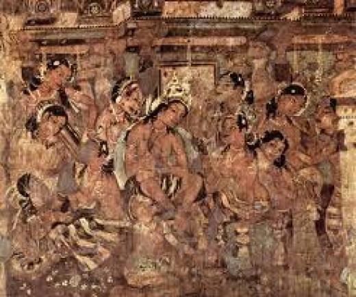 Ajanta paintings