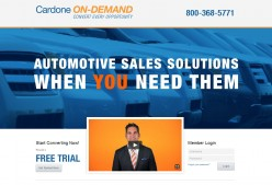 Using Cardone On Demand - Training New Sales People