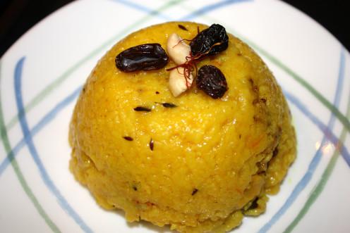Bengali Yellow Rice Pilaf