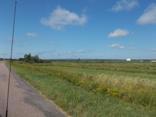 A View Out Over the Tantramar Marsh (Sackville, NB area)