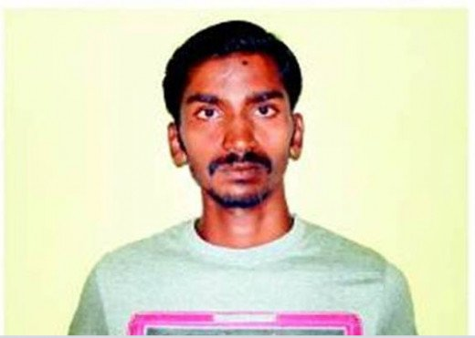 Acid attacker Rajesh from Bangalore, India served 7 years in jail and was sent back for life imprisonment.