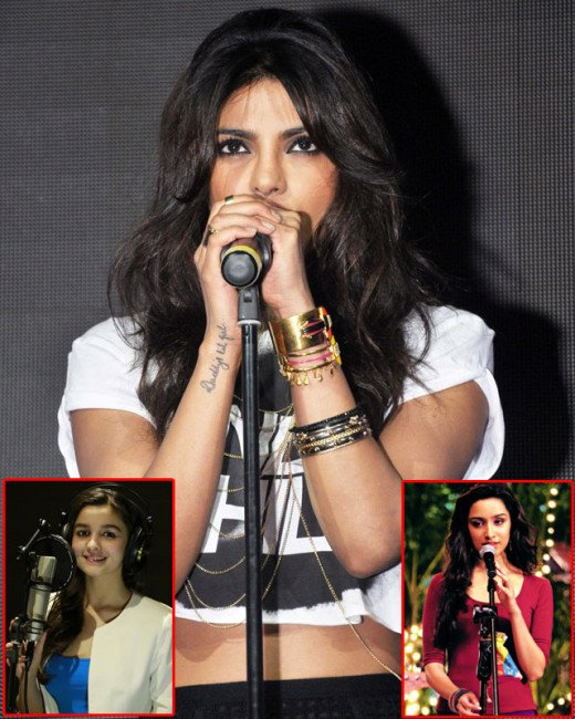 Priyanka Chopra may have shown off her vocal skills on international platforms, but now true to her desi girl tag, the babe is going desi. Watch this video for the full scoop.BOLLYWOOD HOT ACTRESS NEWS VISIT BISCOOT SHOWTYM
