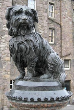 Statue of GreyFriar's Bobby