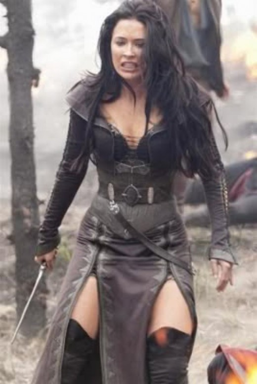 We were introduced to Bridget Regan who made an excellent Kahlan