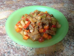 Vegetable Appetizer Recipes - Sautéed White Eggplant