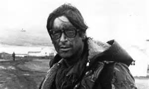 Max Hastings covering the Falklands War in 1982.