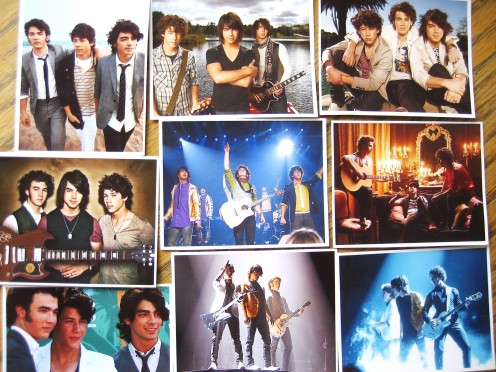 Jonas Brothers Sticker Favors