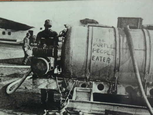 Code name for agent orange gas used in Vietnam?
