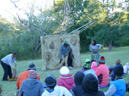 The Baobab an outdoor play with an environmental theme