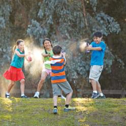 Backyard Water Games for Kids