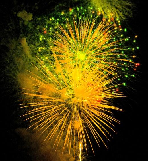 Fireworks in Minnesota