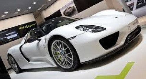 The 2014 model Porsche Spyder is fast, reliable and one of the best selling super cars of all time.