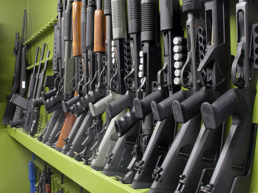 Shotgun rack