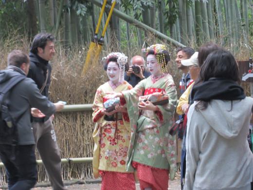 The Geisha we saw
