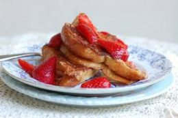 Today I decided to make some Strawberry Cinnamon French Toast that is very diabetic friendly and the taste is really awesome.