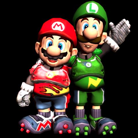 Mario (Left) & Luigi (Right)