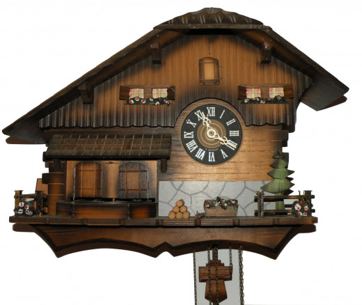 Black Forest Cuckoo clock was a 25th anniversary gift from our children. Now it's a family treasure.