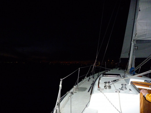Sailing at Night