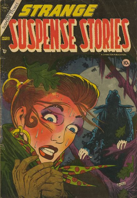 Strange Suspense Stories #18 (Charlton Comics, 1954)
