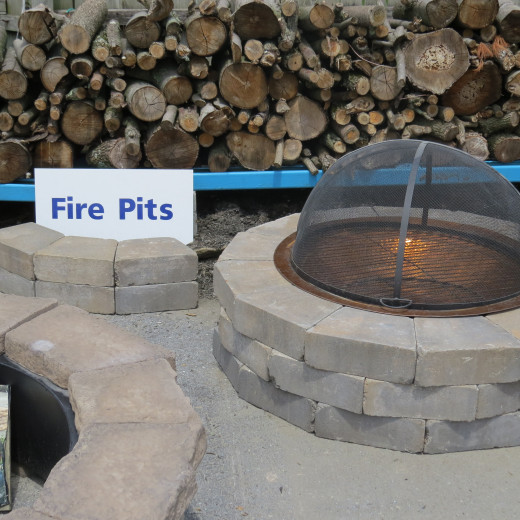 Fire Pits: I reached where I wanted to go.