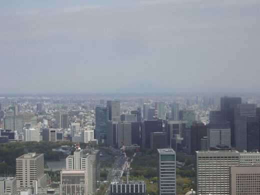 View of Tokyo Japan Skyline