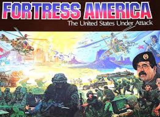 Fortress America's original box.