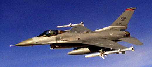 The F-16CJ is responsible for suppression and destruction of enemy air defenses for U.S. airpower.