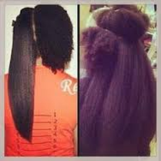 This picture is from a natural hair website.