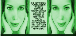 The Efficacy Of Keyword Placement In Website Content Writing