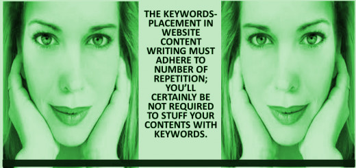 Keyword-placement in website content writing is one of the various strategies of Search Engine Optimization in order to improve ranking of your website. Hence, aptly managed keyword-placement is a smart technique.