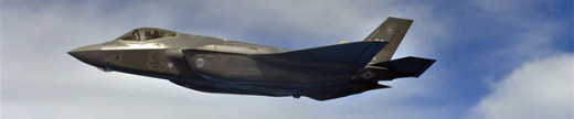 """F-35A """"Lightning II.""""  The F-35 could only carry two JDAMs and two AMRAAMs internally."""