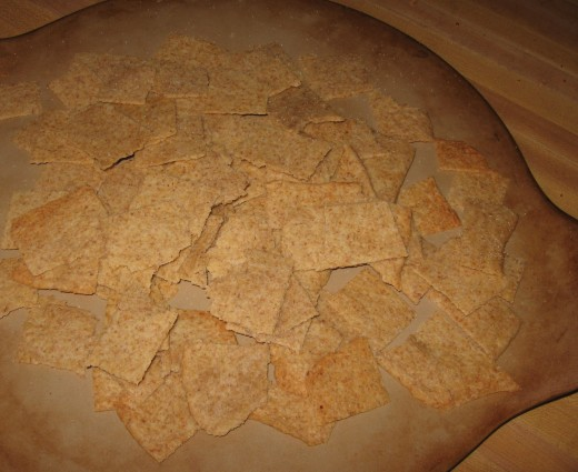 Let cool on cookie sheets/pizza stones.