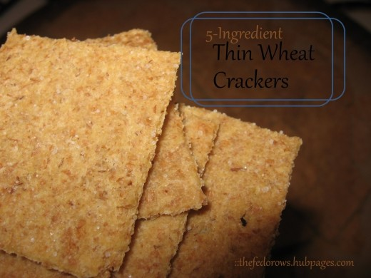 Check out this pictorial guide to making your own crackers!  You can do this!