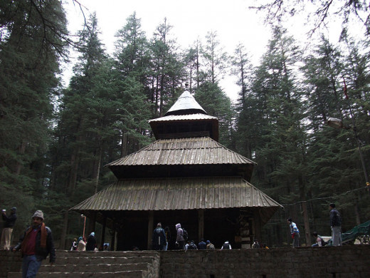 Hidimba Devi Temple in Manāli,