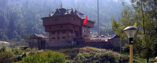 The Bhima Kali Temple at Sarahan