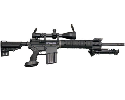 This is a weapon for soldiers on the field of battle (military conflict) not for any street in America.