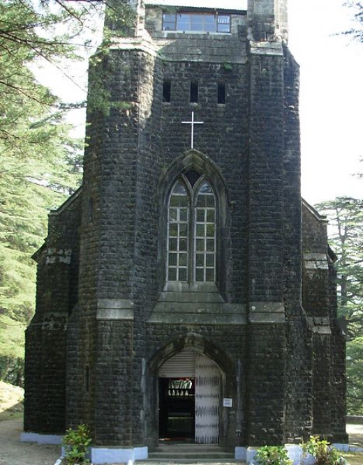 St. john church at Mcleodganj,