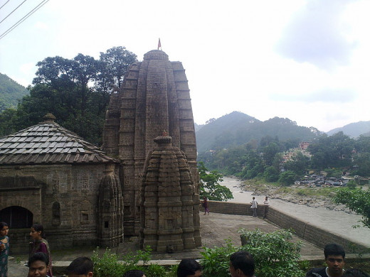 Triloknath temple at Mandi