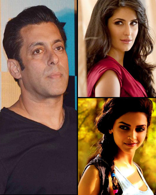 Salman Khan drops Katrina Kaif, Deepika Padukone and Ranbir Kapoor from the invitees list for his grand bash.Bollywood on Biscoot Showtym : http://www.biscoot.com/showtym