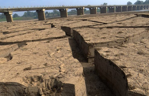 Bridge on River Narmada